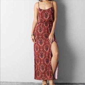 5 for $25 American Eagle maxi dress slit boho NWOT